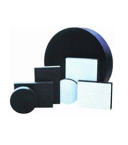 Plate rubber bearing